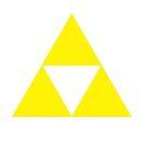 Subtle Triforce T Shirt by AcidCH