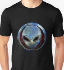 Metal Alien Head 03 Unisex T-Shirt