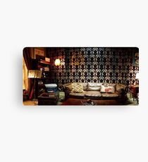 221B Living Room Canvas Print
