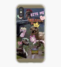 Sassy Jurassic Park iPhone Case