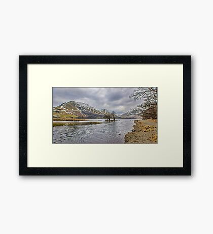The Shoreline Brothers Water Framed Print