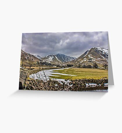 Hartsop Valley Views Greeting Card