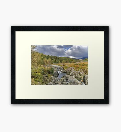 River Duddon Lake District Framed Print