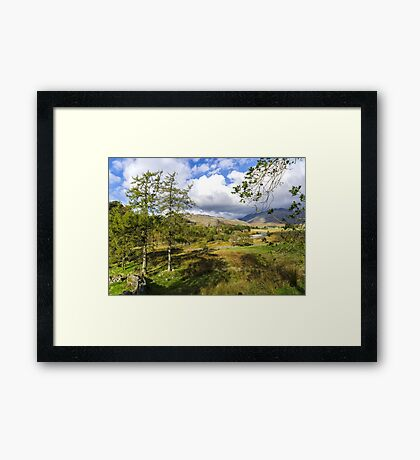 The Duddon Valley Framed Print