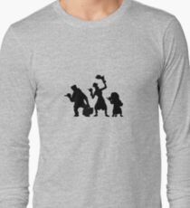 Haunted Mansion Hitchhiking Ghosts Long Sleeve T-Shirt