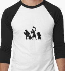 Haunted Mansion Hitchhiking Ghosts Men's Baseball ¾ T-Shirt