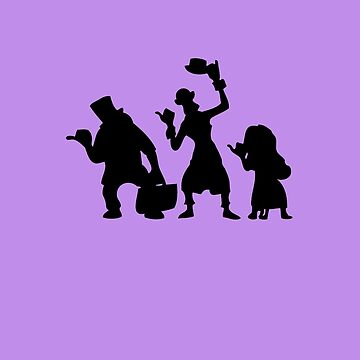 Haunted Mansion Hitchhiking Ghosts by HarrisonAmy