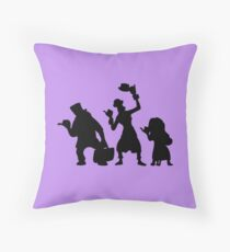 Haunted Mansion Hitchhiking Ghosts Throw Pillow