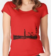 28 days later Women's Fitted Scoop T-Shirt