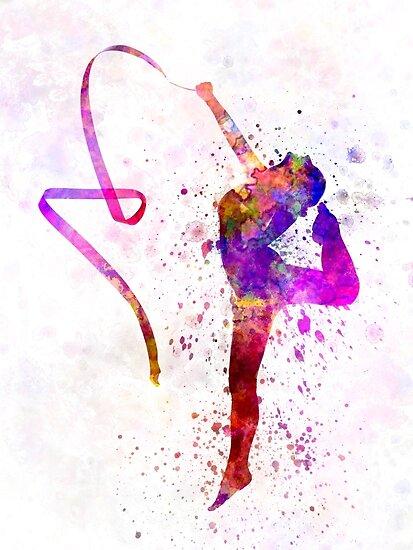 Rhythmic Gymnastics by paulrommer
