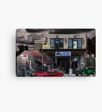 Auto World Canvas Print
