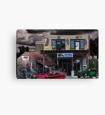 Auto World Canvas Print