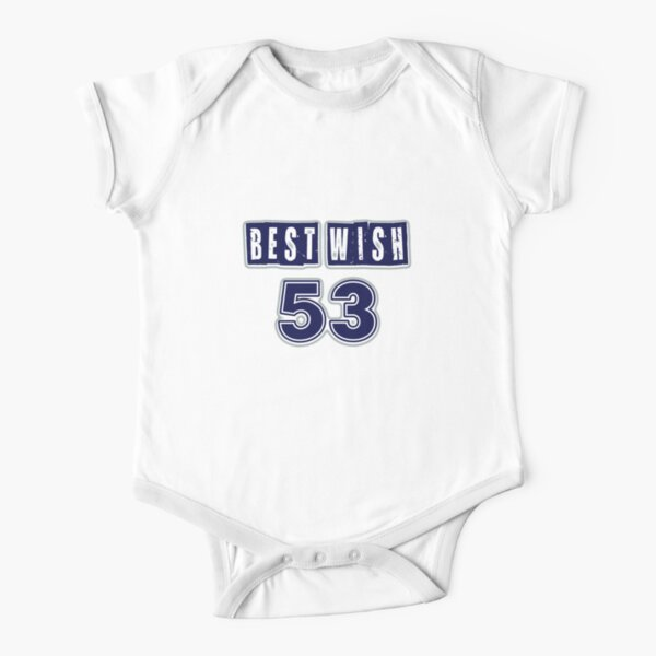 Best Wish Number 53 Short Sleeve Baby One-Piece