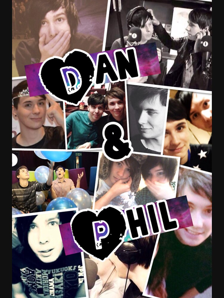 Dan and Phil Collage | Women's T-Shirt