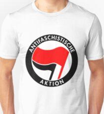 Antifaschistische Aktion Unisex T-Shirt