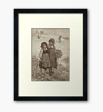 Harvest Girls Framed Print