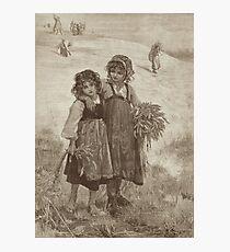 Harvest Girls Photographic Print