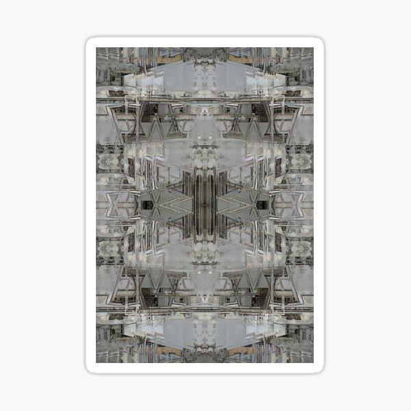 Lisbon Facade Remixed Sticker