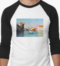 Gdansk old town in watercolor T-Shirt