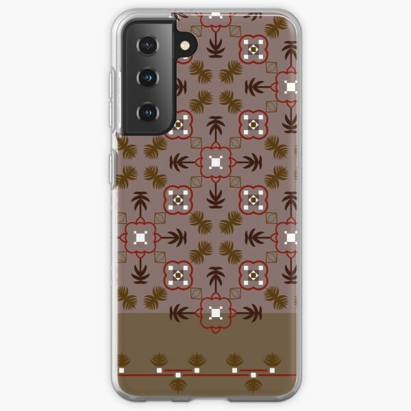 Ethnic pattern for textile, geometry shape.  Samsung Galaxy Soft Case