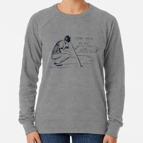 Your Hole is My Goal Golf-Your Hole is My Goal Golf Polo Lightweight Sweatshirt