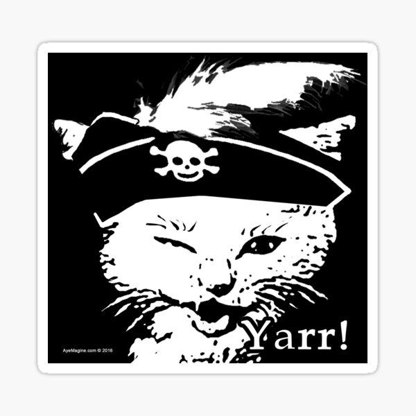 Pussy Pirate Sticker