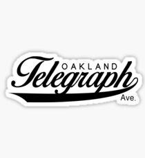 Telegraph Avenue (Oakland) Sticker