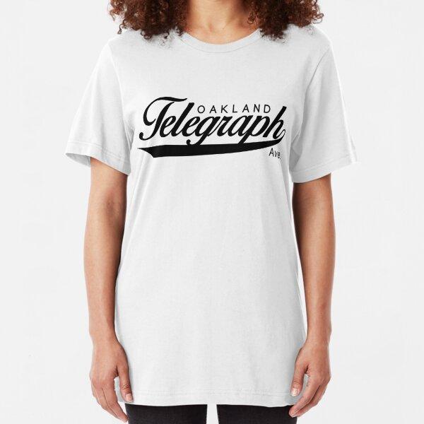 Telegraph Avenue (Oakland) Slim Fit T-Shirt