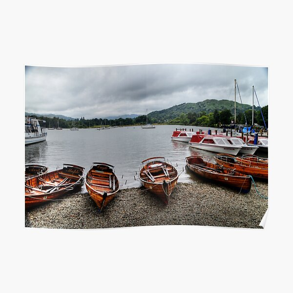 Ambleside Boats Poster