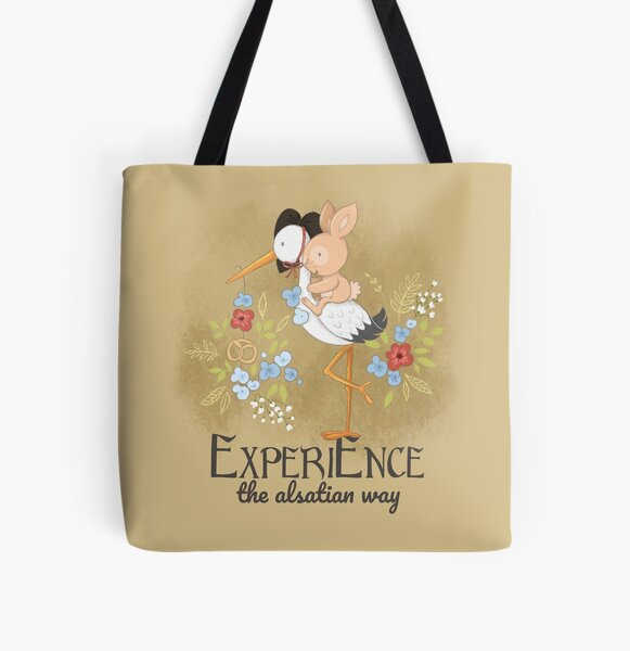 Experience the Alsatian way All Over Print Tote Bag