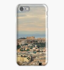Overlooking Athens iPhone Case/Skin