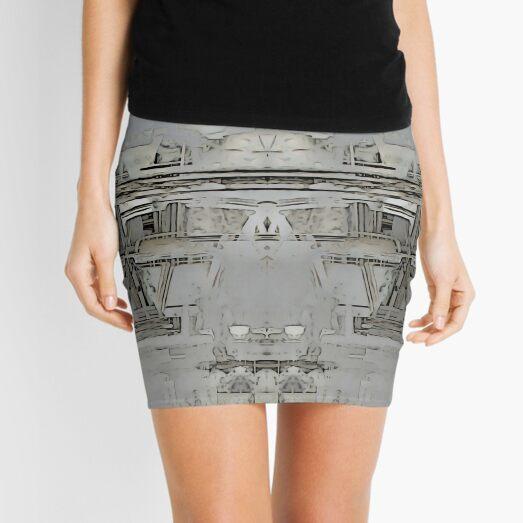 Lisbon Facade Remixed Mini Skirt