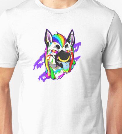 Drugged Zebra Unisex T-Shirt