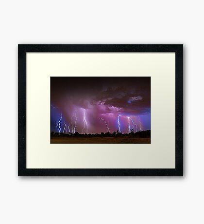Thunderstorm  Framed Print