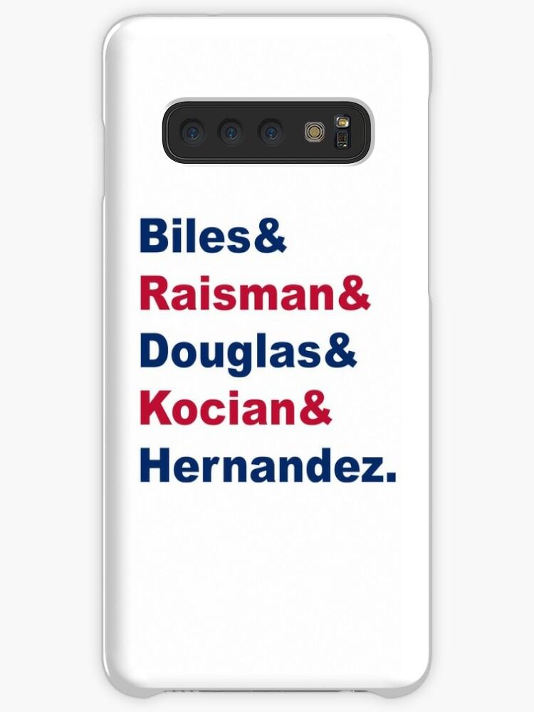 'USA Gymnastics Team Names 2' Case/Skin for Samsung Galaxy by naamaparamore