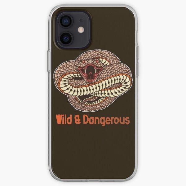 Venomous Snake art wild & dangerous iPhone Soft Case