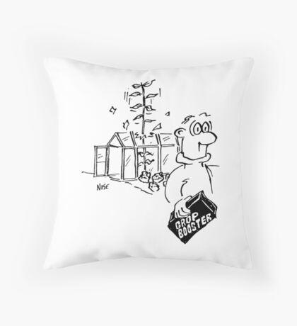 Crop boosting fertiliser has immediate results Throw Pillow