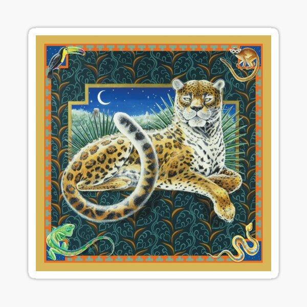 Jaguar, Queen of the Jungle. Sticker