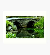 A Rock Bridge in the Country ^ Art Print