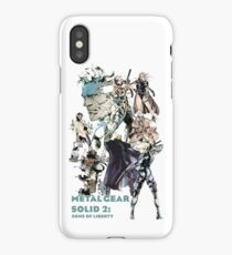 Metal Gear Solid 2: Sons of liberty iPhone Case