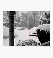 February 2016 - Virginia Storm Photographic Print