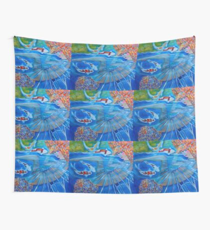 With Every Breath Wall Tapestry