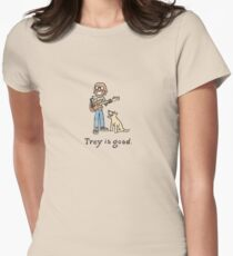 Trey is good. Women's Fitted T-Shirt