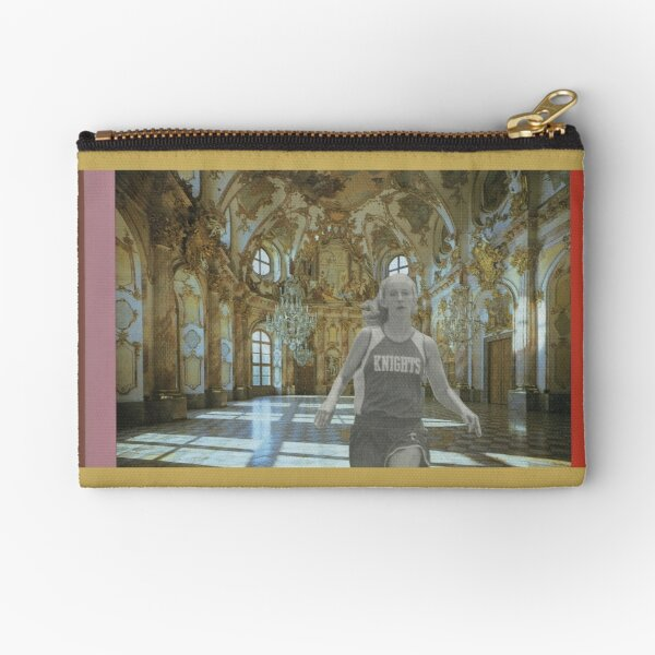 Runners 2 (Hall of Mirrors) Zipper Pouch