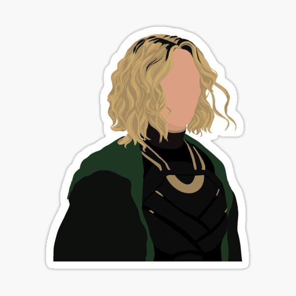 Goddess of mischief  Sticker