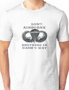 Jump Wings - 509th Airborne - Brothers in Harm's Way Unisex T-Shirt