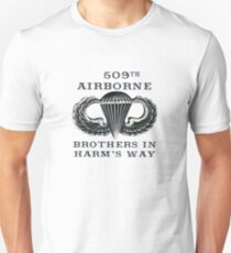 Jump Wings - 509th Airborne - Brothers in Harm's Way T-Shirt