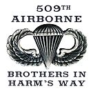 Jump Wings - 509th Airborne - Brothers in Harm's Way by Buckwhite