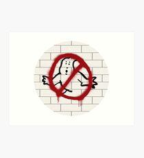 Ghostbusters spray paint logo Art Print