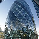 London The Gherkin - St Mary AXE, 180 m. / 590 f by Remo Kurka